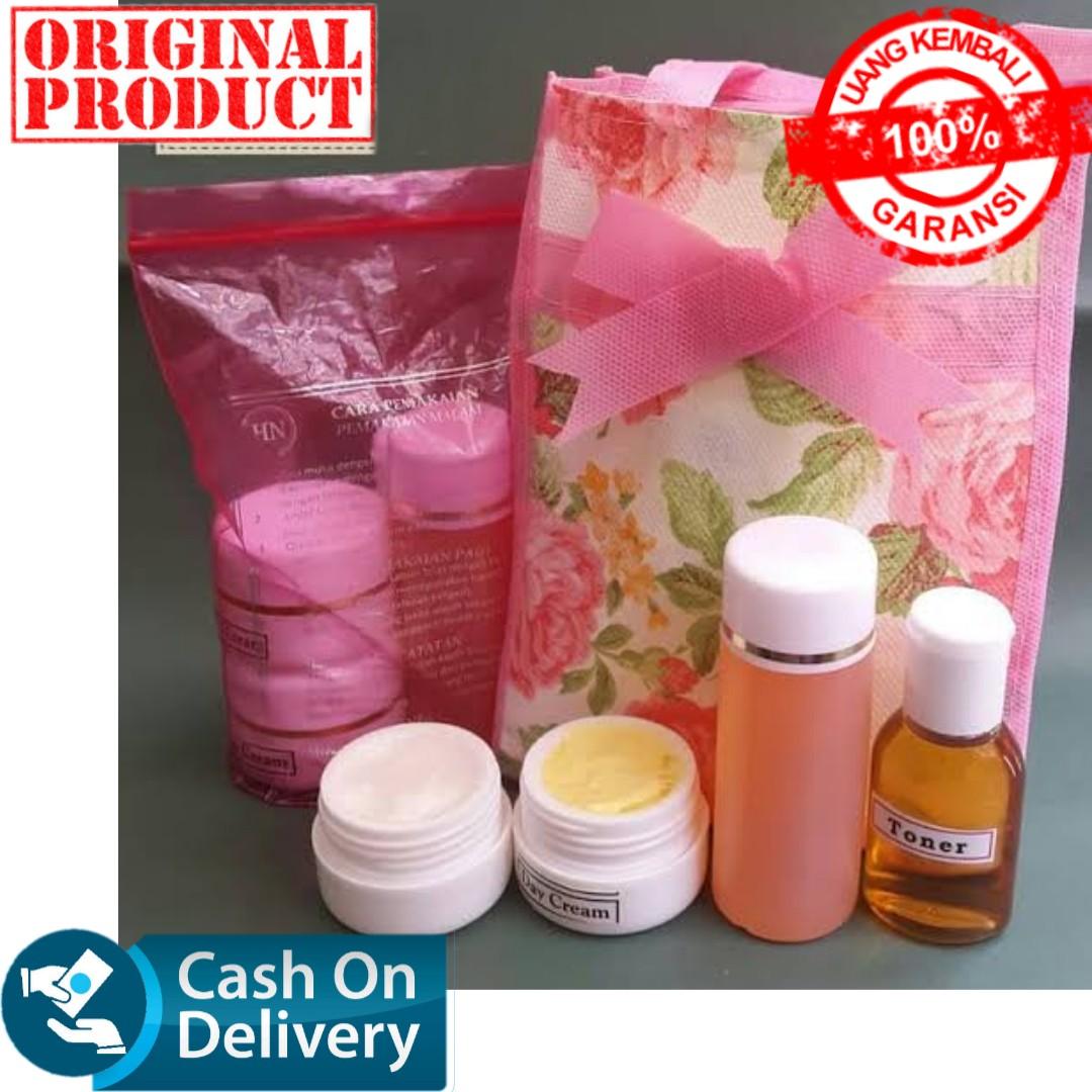 cream hn apoteker 15gr original – paket 1plastik 1 pink tas / cream pemutih wajah glowing / krim pengilang flek hitam / bibit pemutih / bibit cair infus / cream wajah / cream pemutih