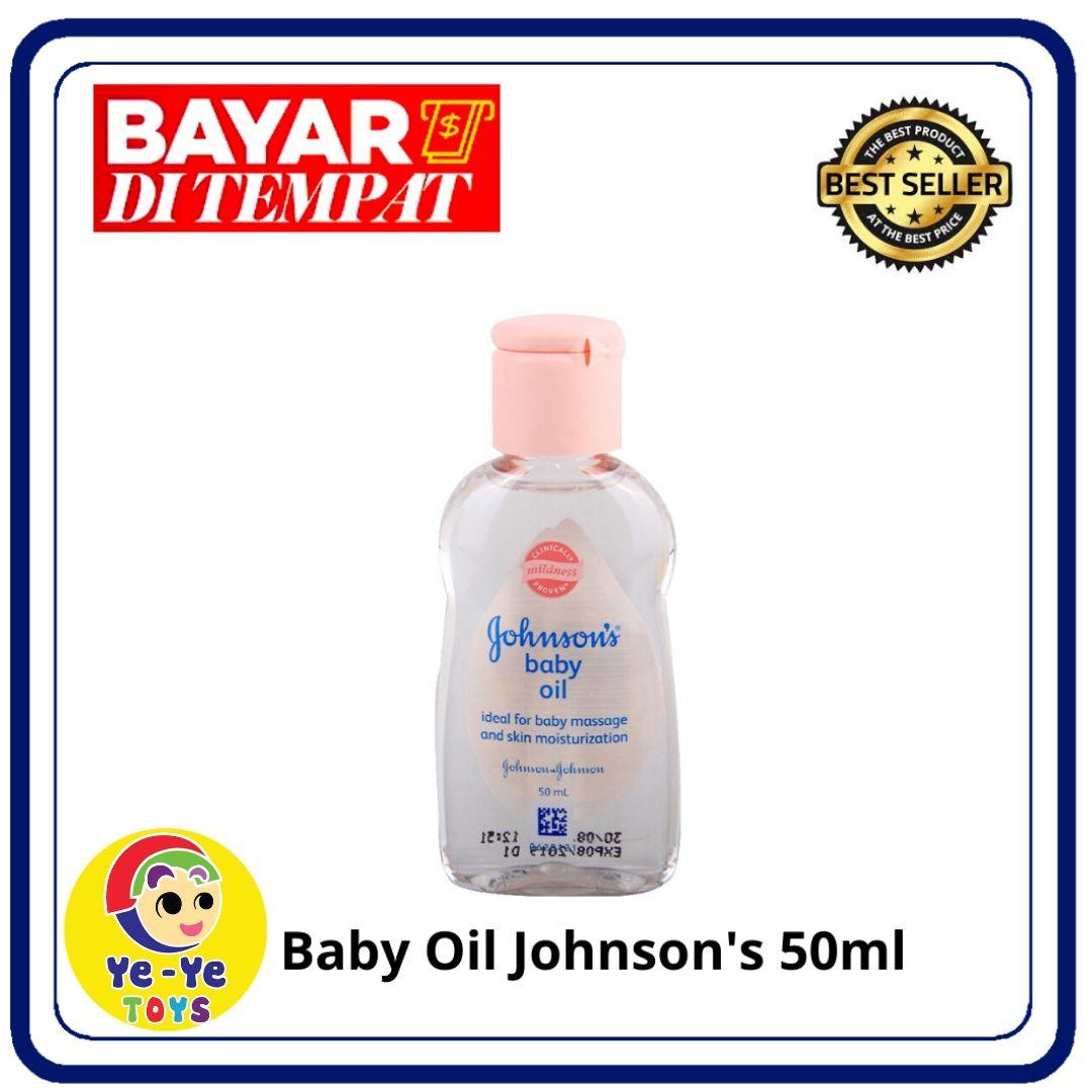 johnsons baby oil 50 ml / minyak pijat bayi / perawatan kulit bayi