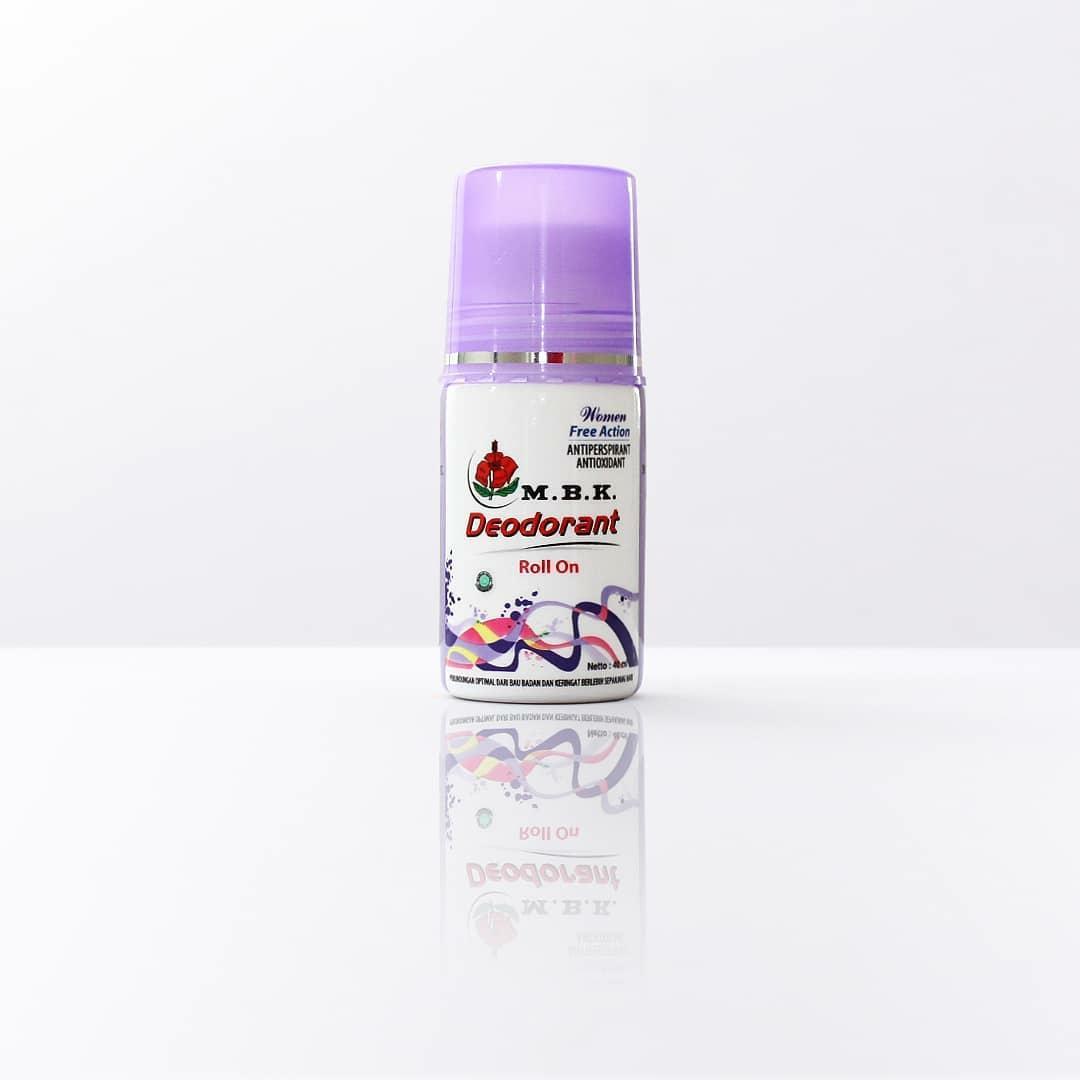 MBK Deodorant Roll On Women Free Action Ungu.