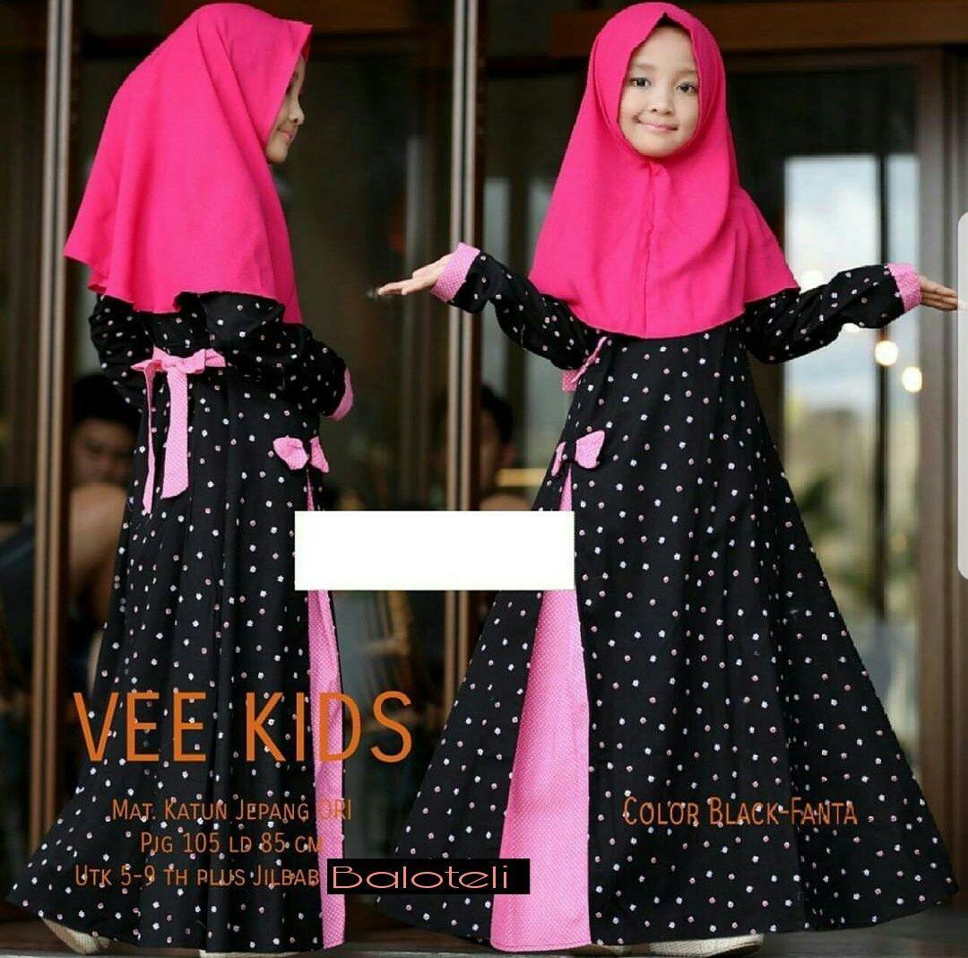 Features Cc Syari Kid Luksakip Gamis Anak Perempuan 7 9 Thn Fashion