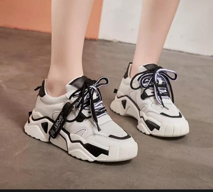 ladang sepatu  bogor – sepatu wanita sneakers sport jin -tu