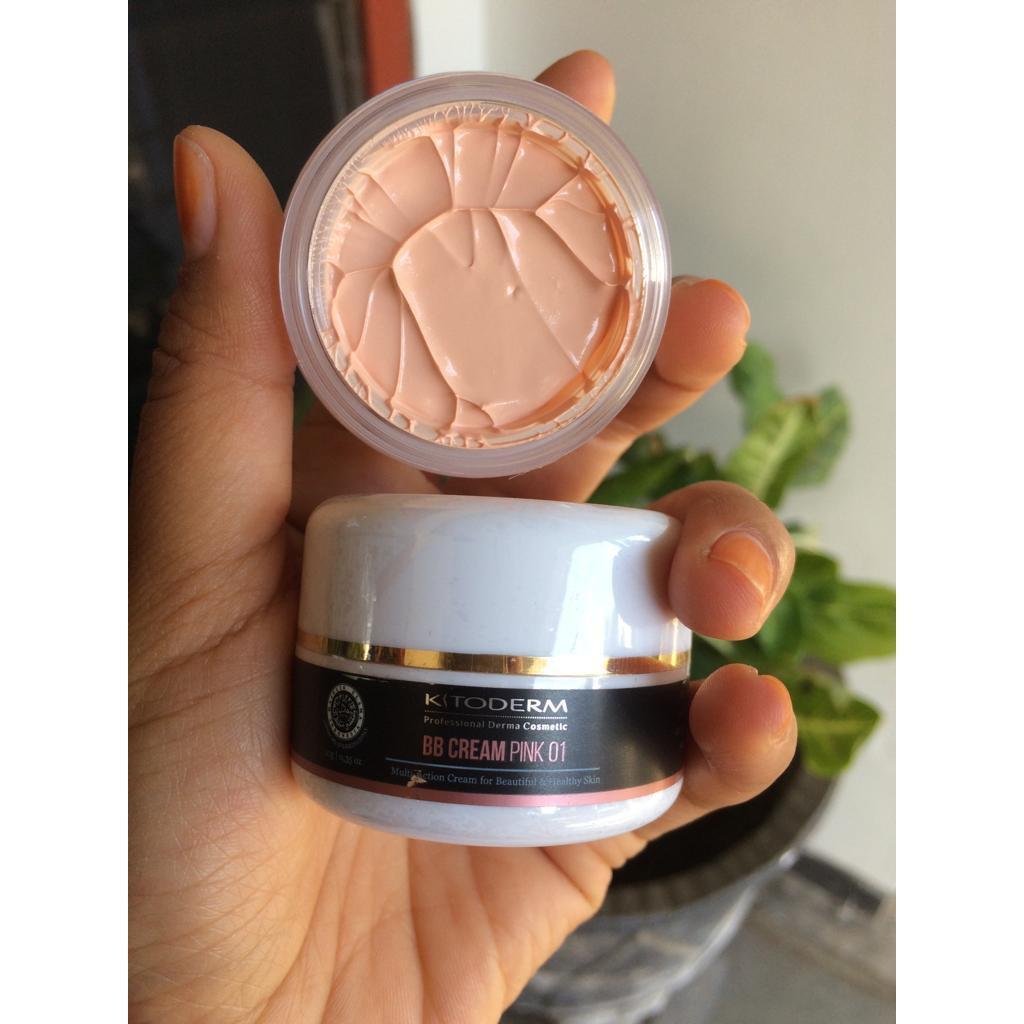 kitoderm bb cream pink 01 spf 50 – bb krim