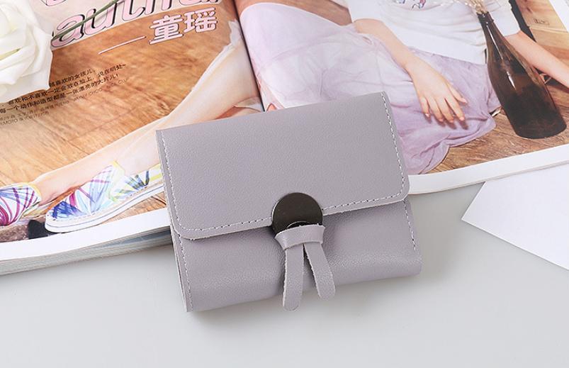 raja ob – dompet lipat mini wanita wd119 import mini wallet / dompet fashion