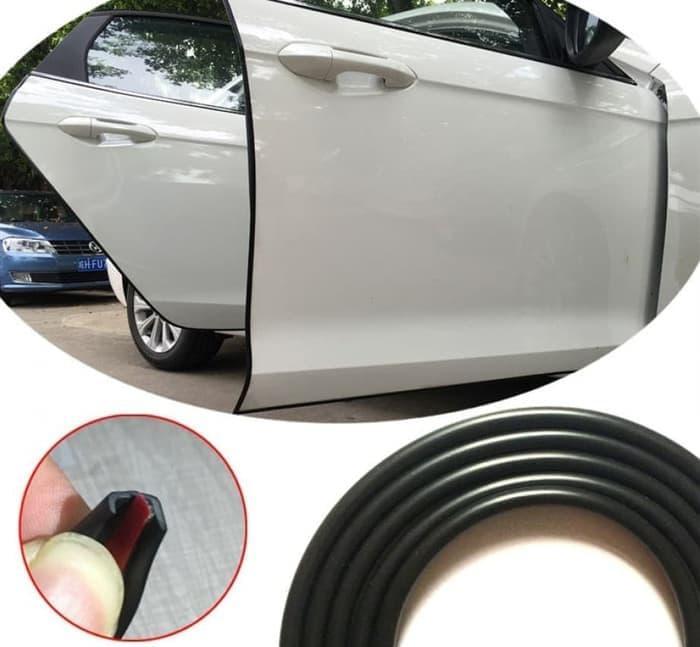 karet pelindung pintu mobil / list pintu mobil 5m universal