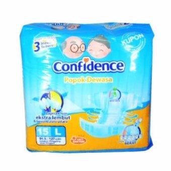 Confidence Popok Dewasa Adult Diaper L 15