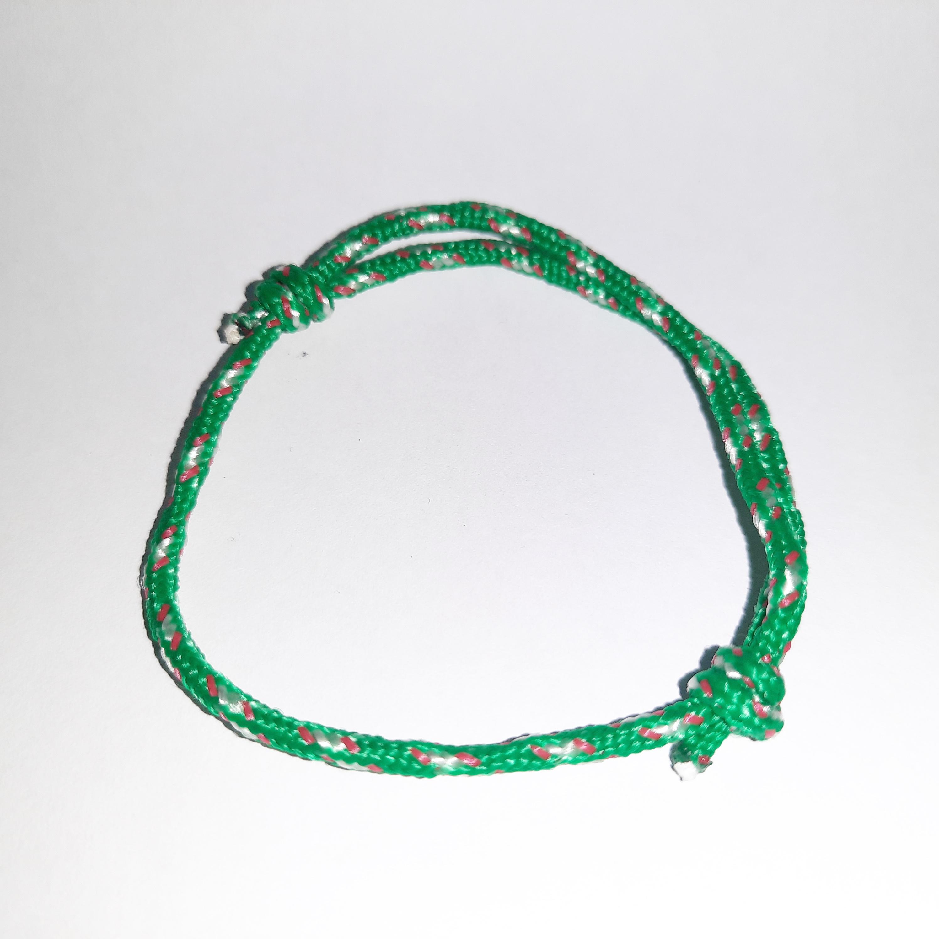 gelang tali prusik gembok bintang  gelang tali handmade / gelang custom / gelang tangan pria/wanita / gelang unik / gelang cantik / gelang fashion / gelang  / gelang tali custom  – random colour  nth86