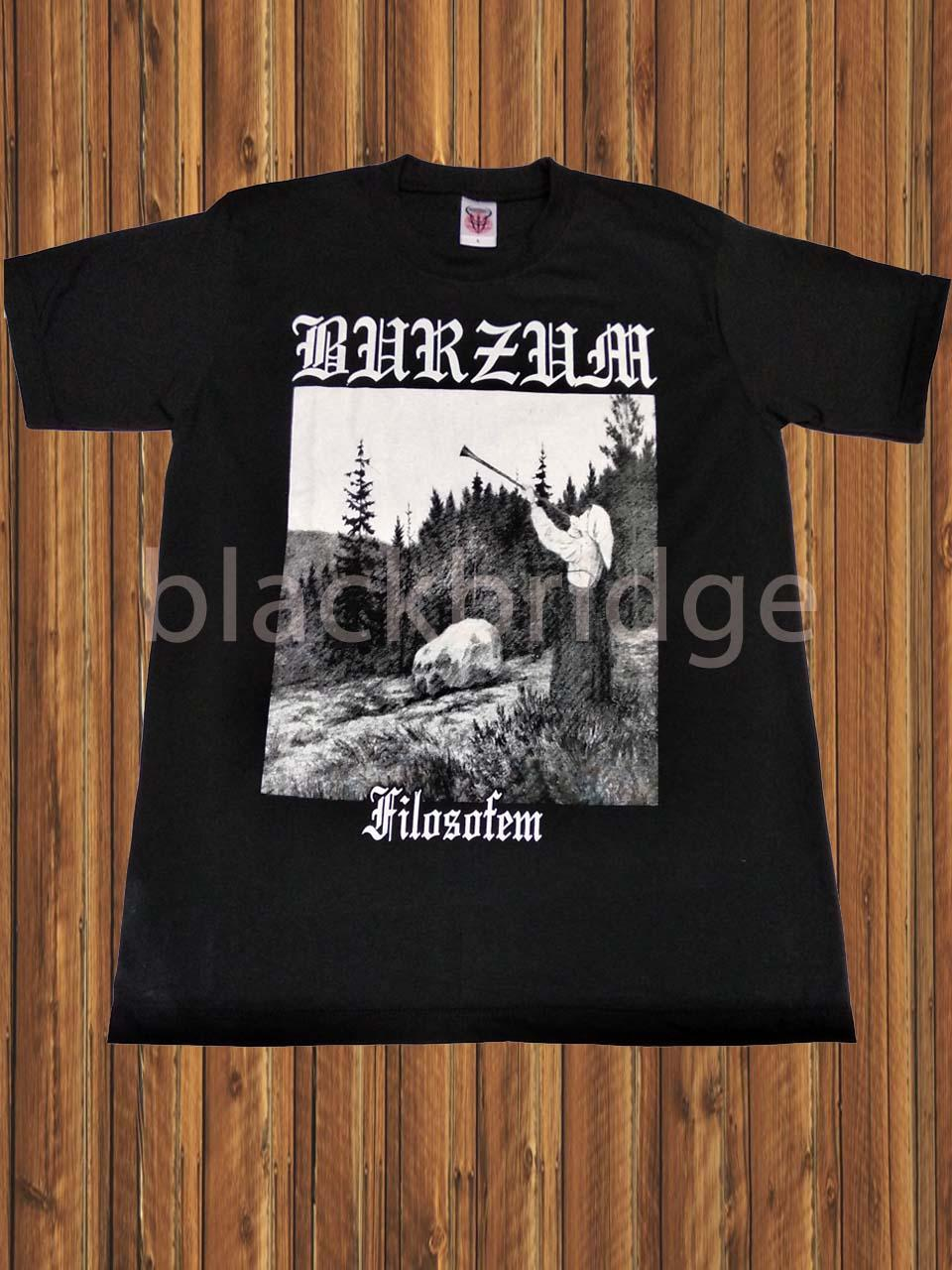 Kaos Pendek / Oblong Band Rock / Metal / Punk PRAPATAN REBEL Murah (Size L) - BURZUM