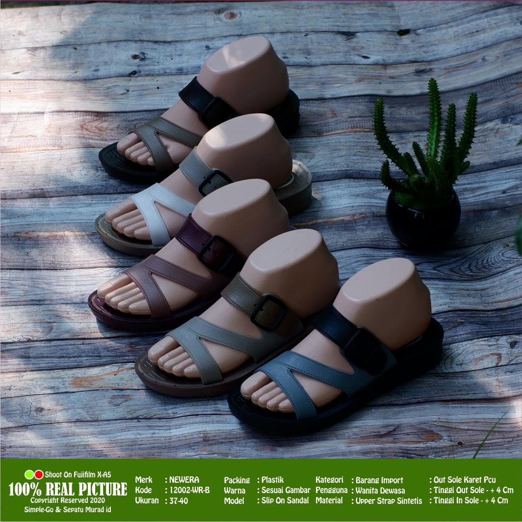 sandal slop wanita dewasa new era 12002 – 15113  37-40