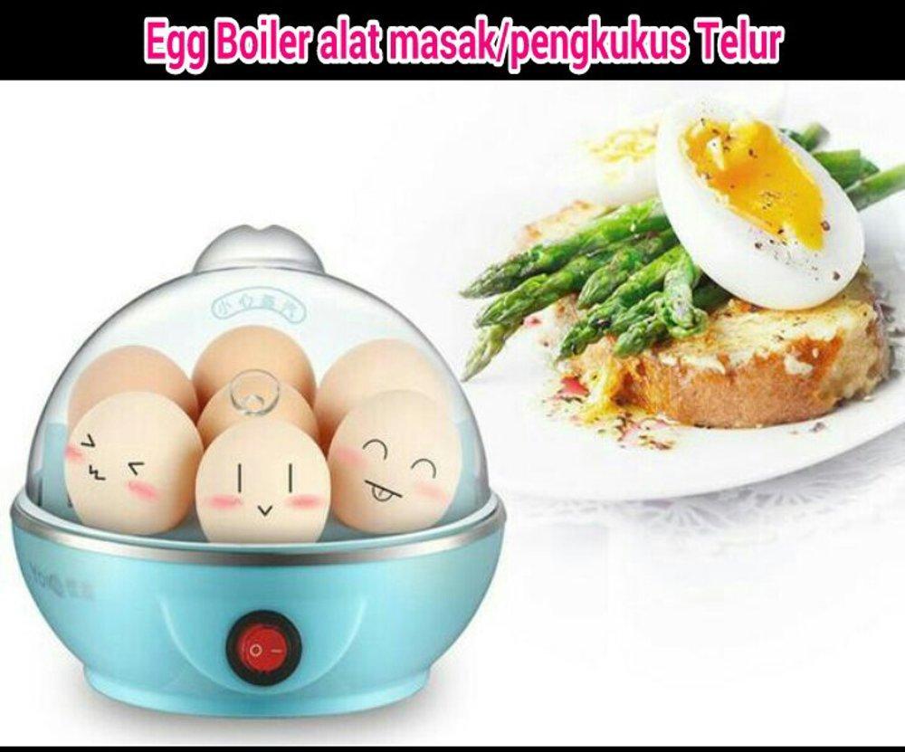 Egg Boiler Alat Merebus Telur Otomatis Masak Telur Elektrik