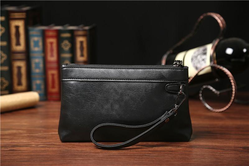 Yues Kangaroo Clutch Handbag Tas Tangan Pria Import Hitam - Wiring ... 1718779ed9