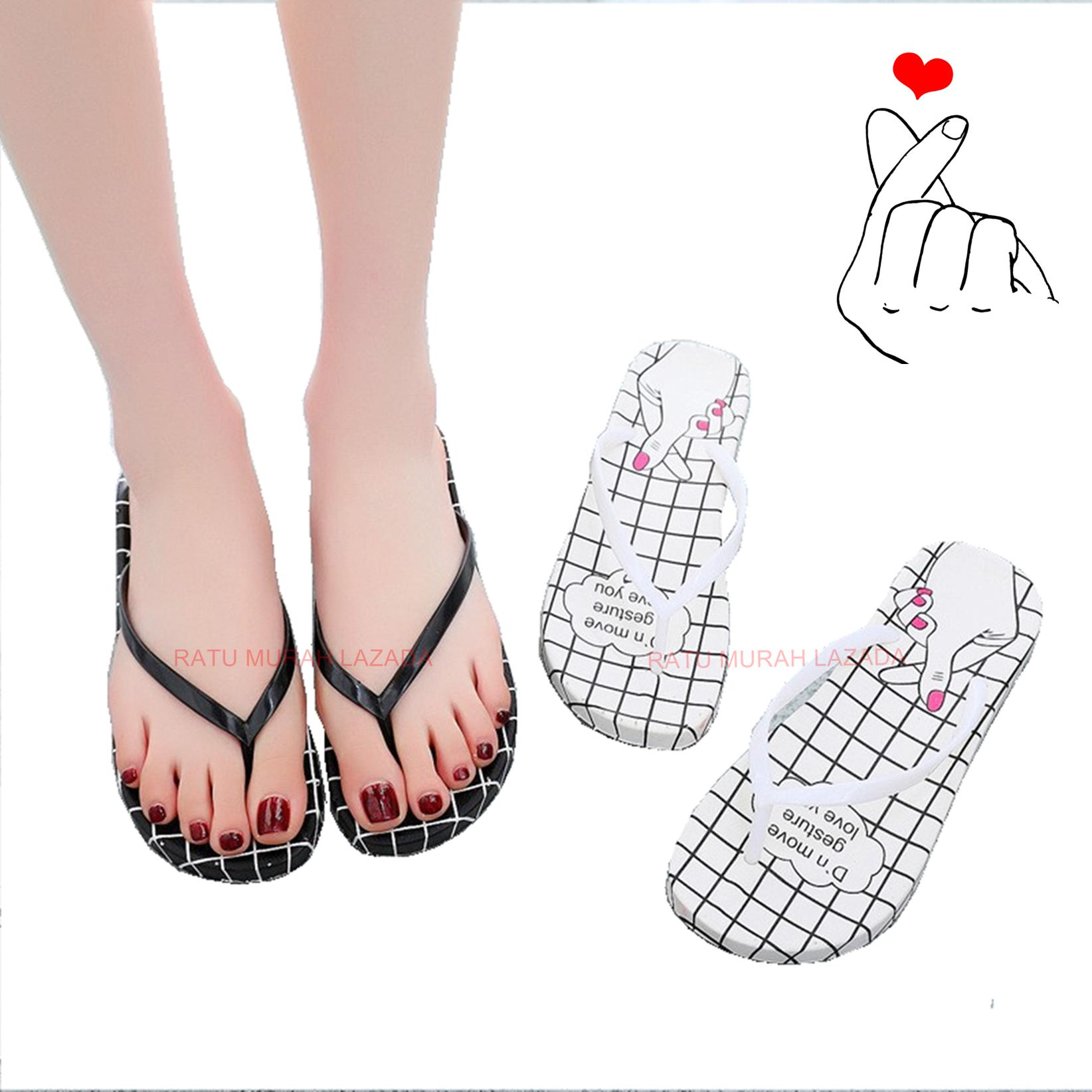 Sandal  Sarangheo  Finger Heart Korean