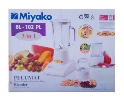 Review Blender Miyako Bl 102 Pl 3in1 Dan Harga Terkini Wiki Harga