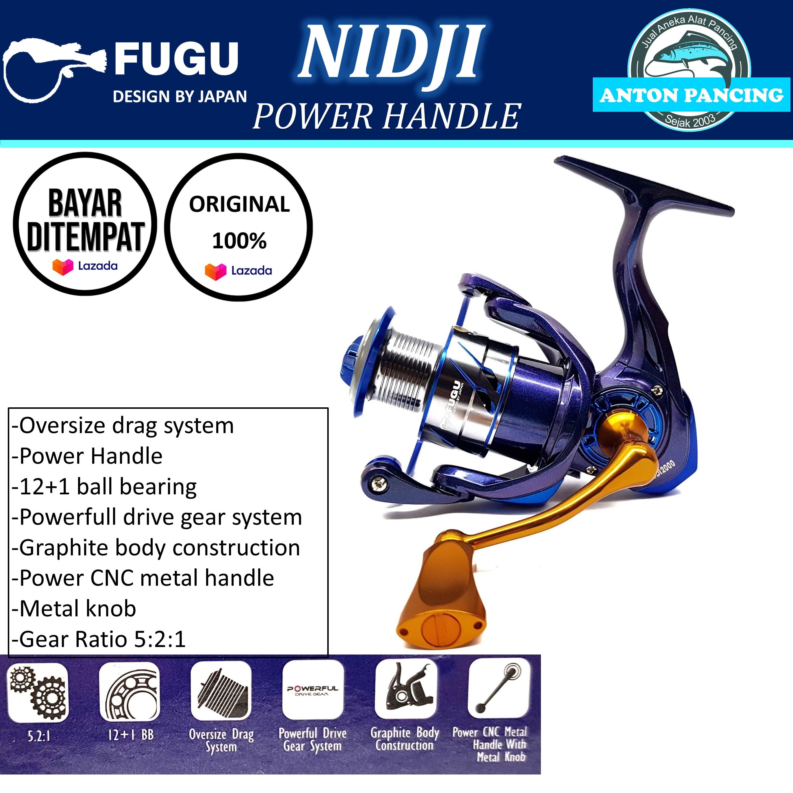 reel pancing fugu nidji 100020003000 power handle