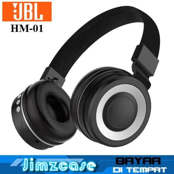jimzcase headphone bluetooth jbl handsfree headset bluetooth wireless hm-01