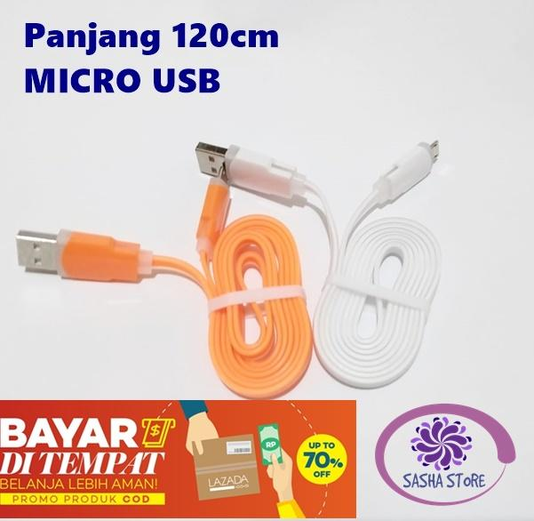 SS Kabel Charger Fashion Elastis MICRO USB 120cm Fast Charging / Kabel Charger Xiaomi Samsung Oppo