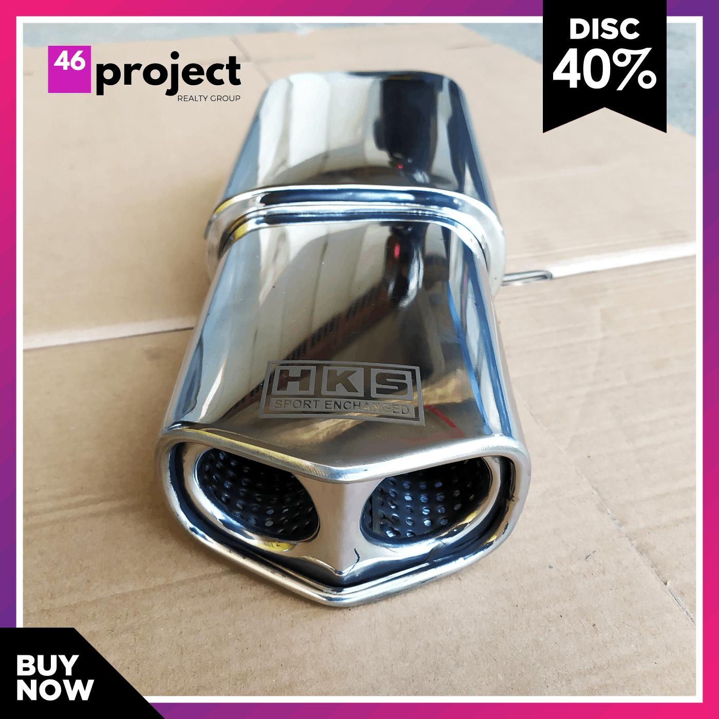 knalpot mobil racing hks gronel rainbow utk all mobil knalpot mobil avanza honda jazz mobilio sigra apv ayla calya dll