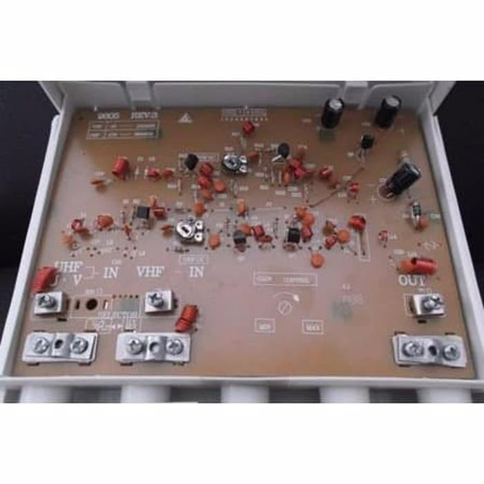 ... Booster DX W 9900 TV Antenna Gambar Langsung Jernih Boster Paket Ata - 3