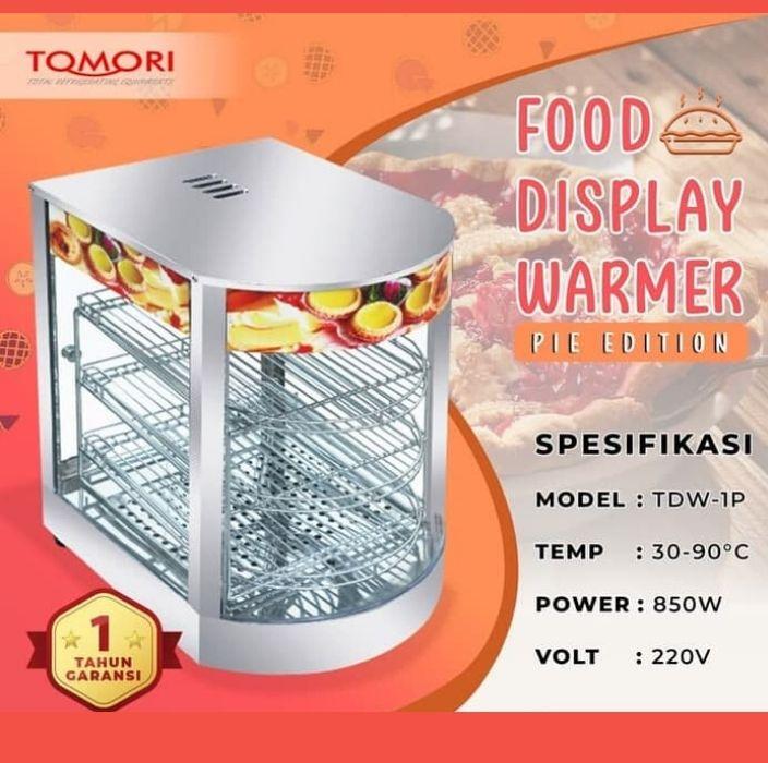 food warmer display – tdw-1p tomori