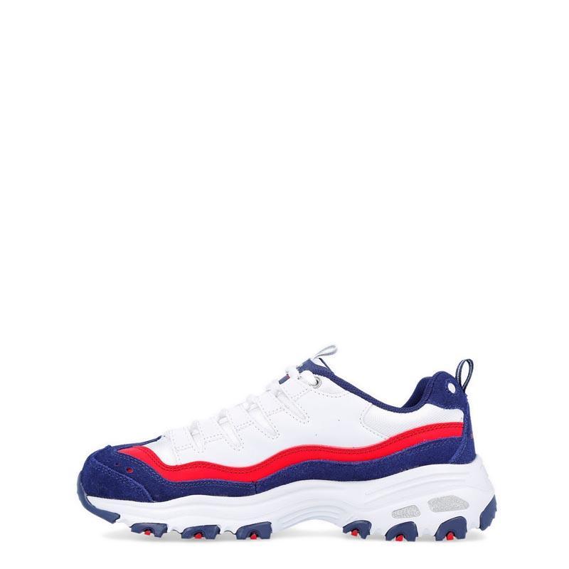 Detail Gambar Skechers - D'Lites - Sure Thing Sepatu Olahraga Sneakers Wanita - Putih - Hari Kartini Terbaru