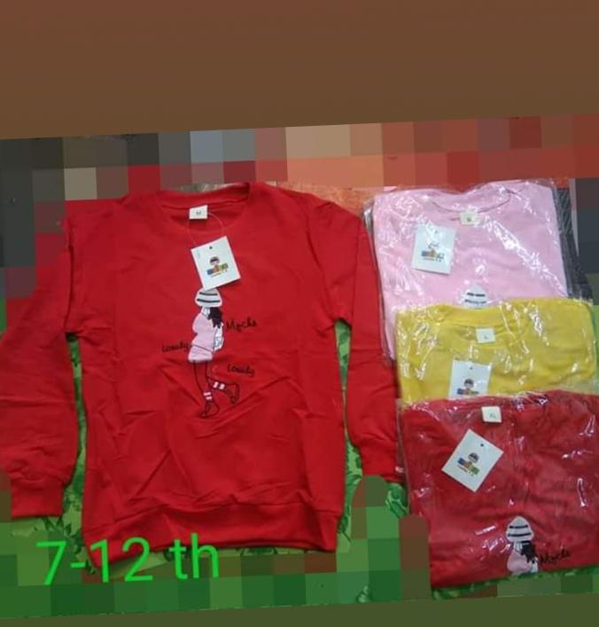 baju anak 7 – 12 tahun / baju anak import / baju anak  2020 / sweater anak