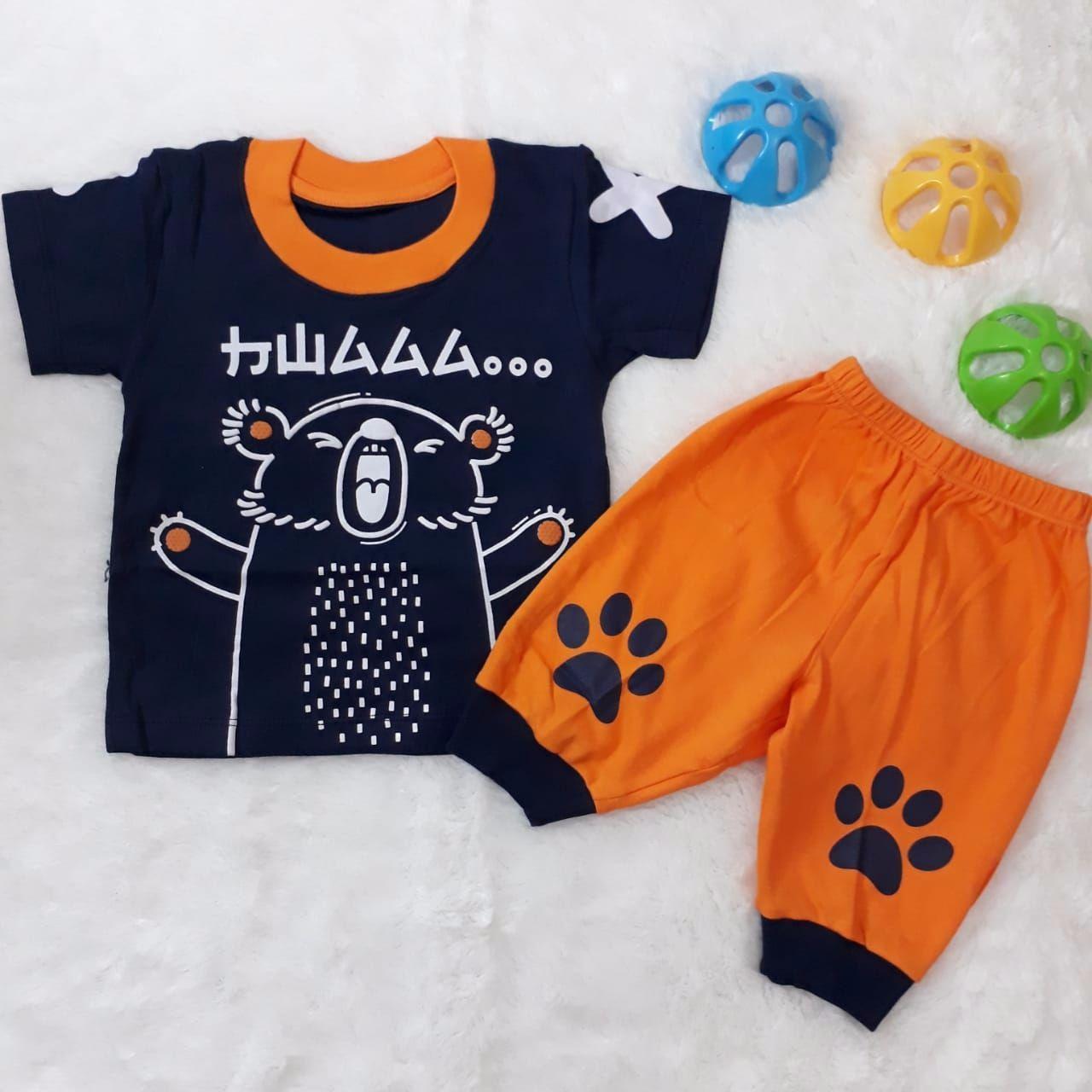 Baju setelan anak laki laki umur 3bulan sampai 3 tahun/Baju atasan anak laki laki