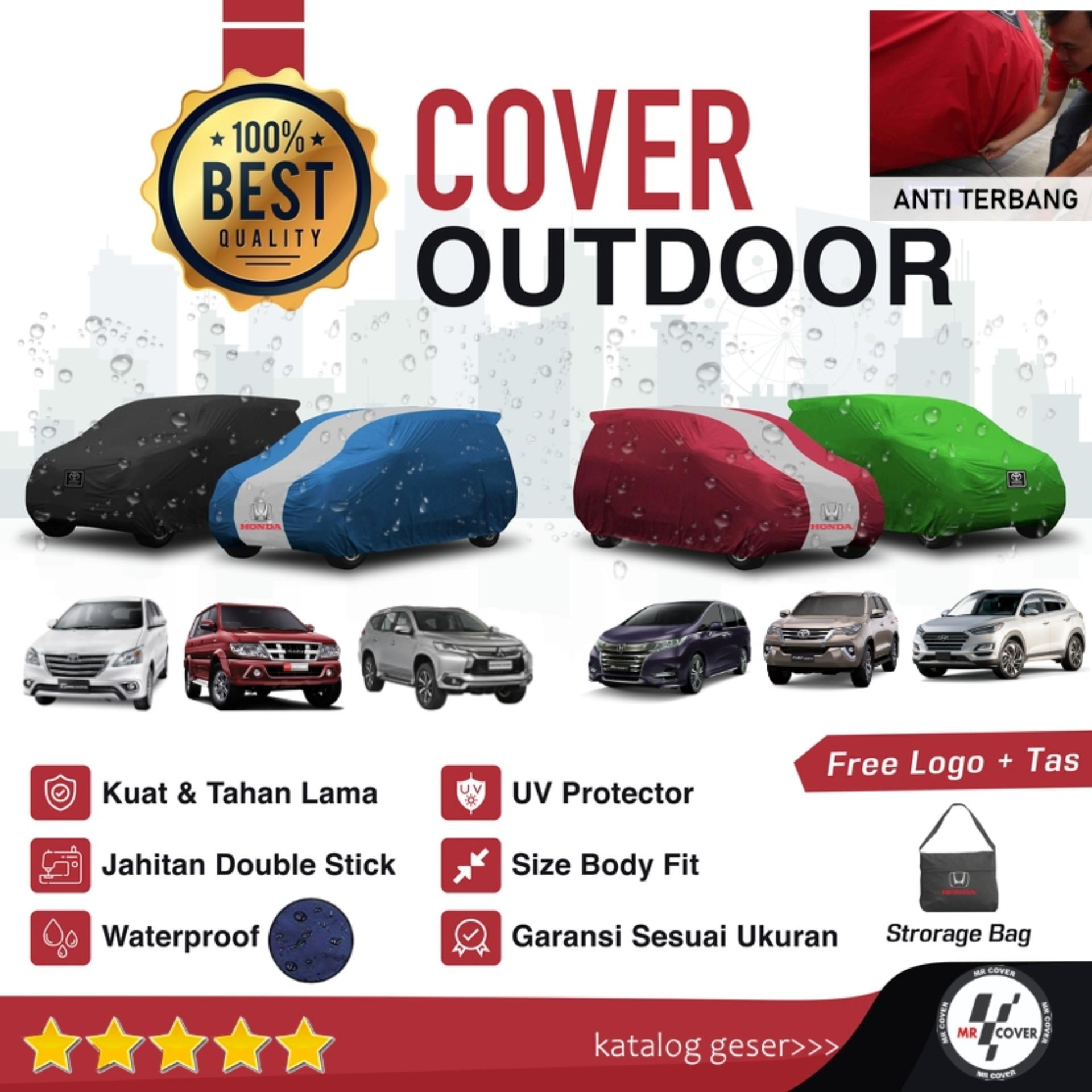 body cover sarung mobil innova fortuner pajero panther odyssey tucson