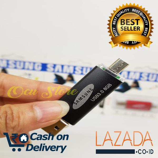 .. flashdisk 2 in 1 samsung otg 8gb all smartphone – 8gb capacity