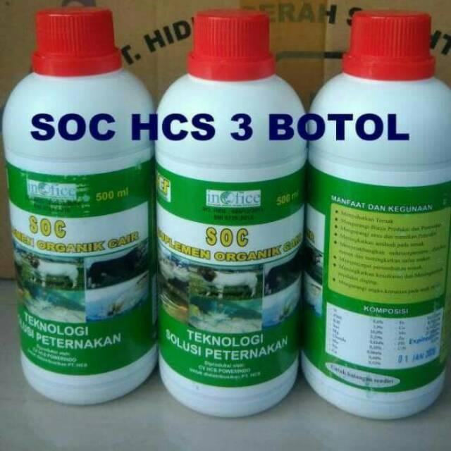 promo soc hcs untuk fermentasi ternak