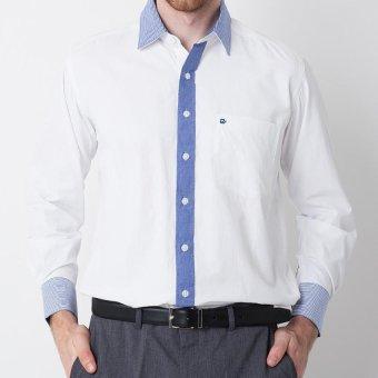 Damon Long Sleeve Shirt 141650 Putih