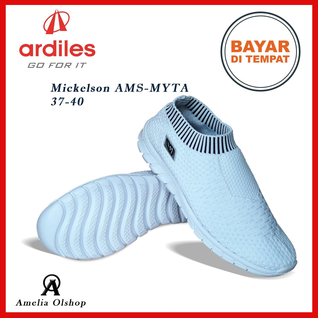Amelia Olshop Sepatu Mickelson Ams Myta 37 40 Sepatu Sneakers Wanita ... b1fd09f14b
