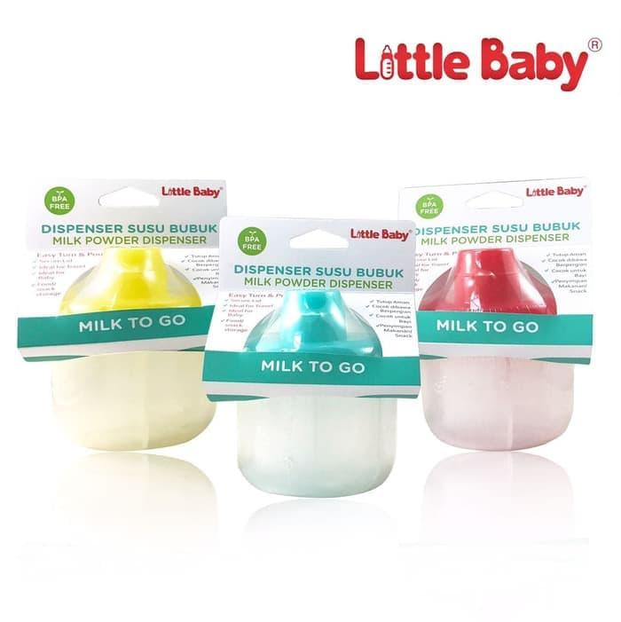 Little Baby Milk Powder Container Dispenser Tempat Susu Bayi