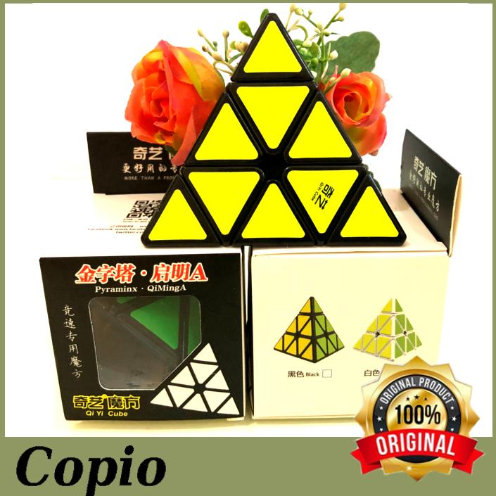 Rubik Pyraminx Qiyi Qiming A Premium Black Based
