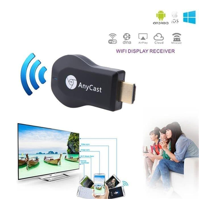 (bayar tempat) anycast dongle hdmi wireless wifi / miracast / ezcast