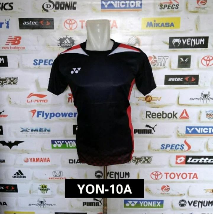 baju kaos bulutangkis yonex jersey badminton