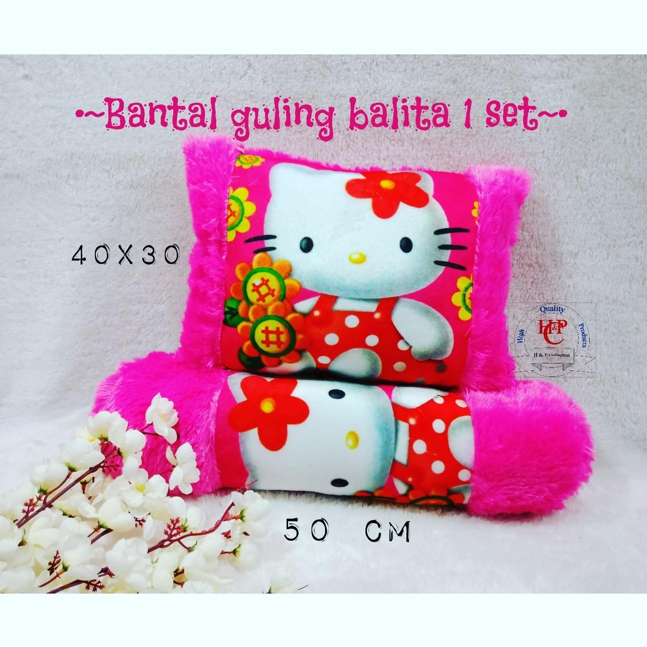 Bantal guling balita Hello kitty 1 set