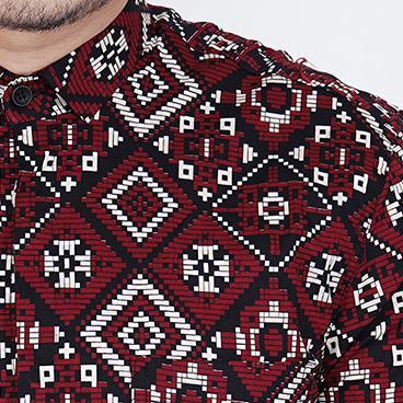 Review Zoeystore1 6485 Kemeja Batik Pria Lengan Pendek