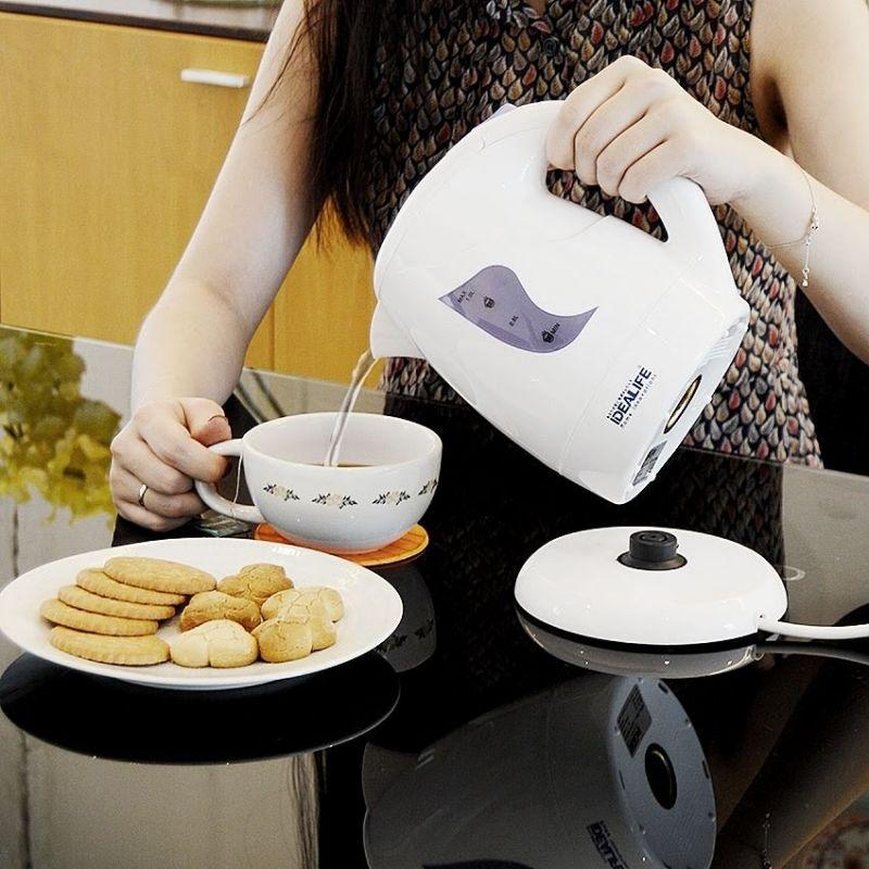 idealife electric kettle/ teko listrik kapasitas 1 liter