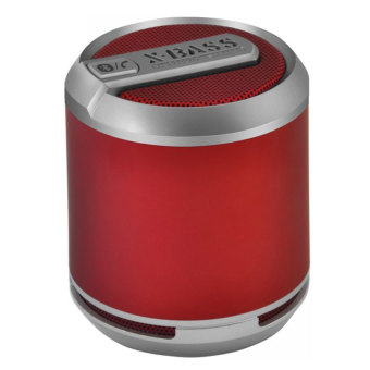 Divoom Bluetune Solo Bluetooth Speaker with Mic - Matte Red