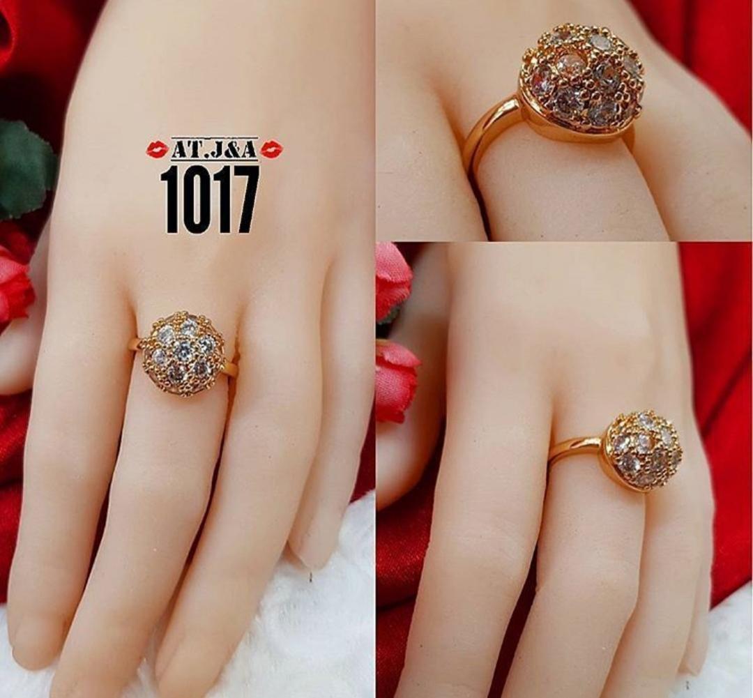 gelang plat cincin bola xuping gold