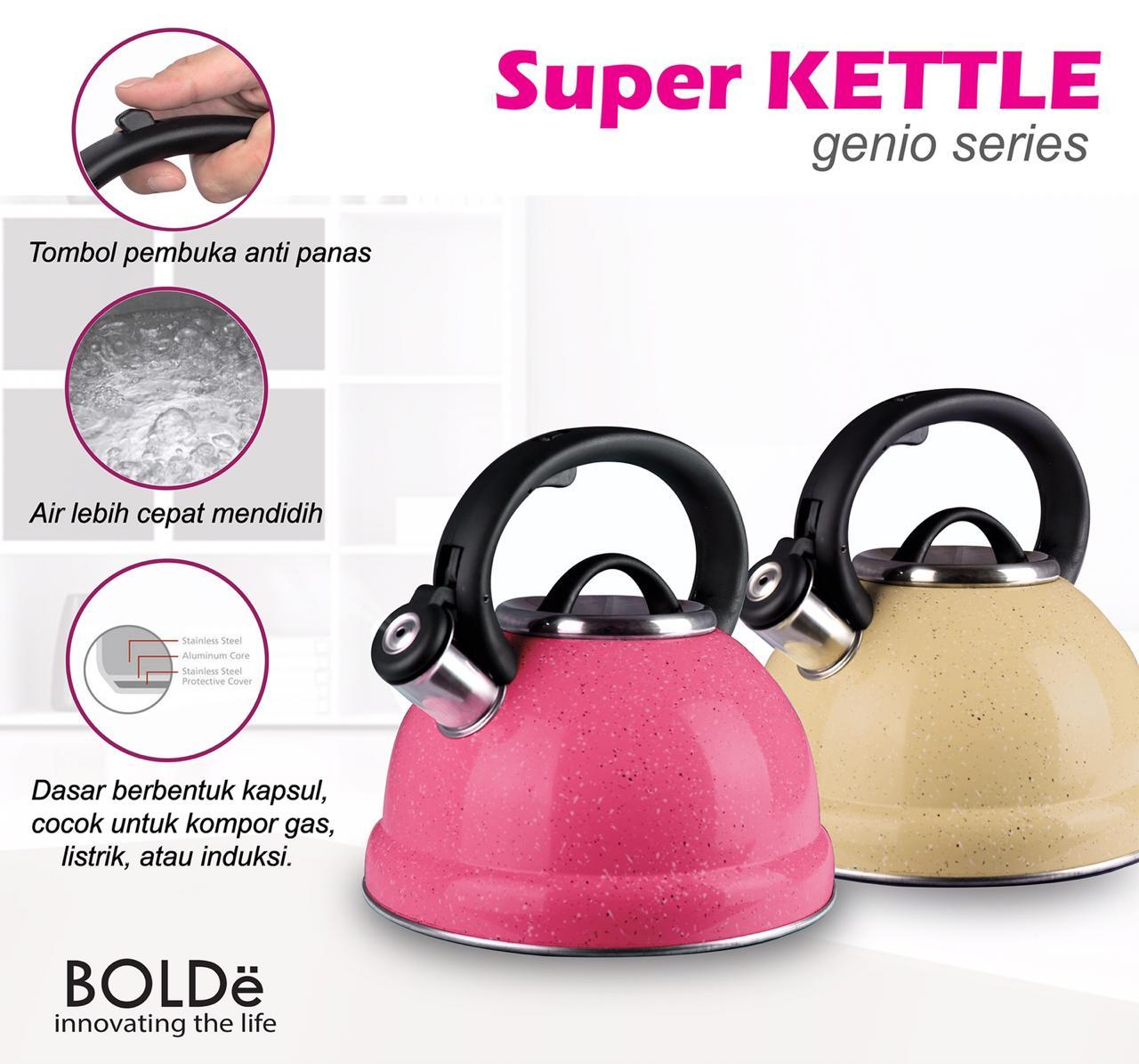 Bolde Super Kettle Genio Series Teko Pemanas Air