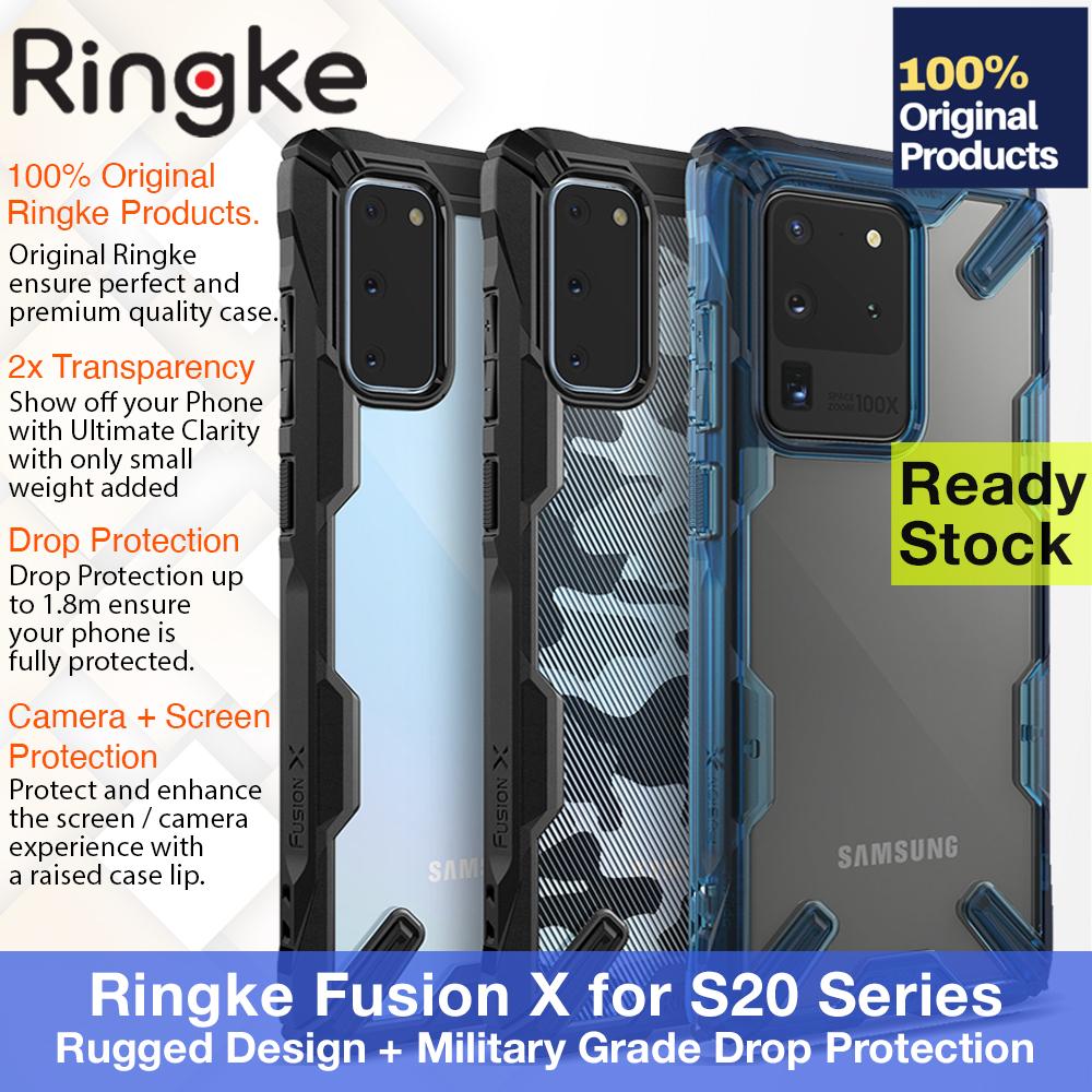 original ringke fusion x case huawei mate 20 – ultra tough anti crack casing