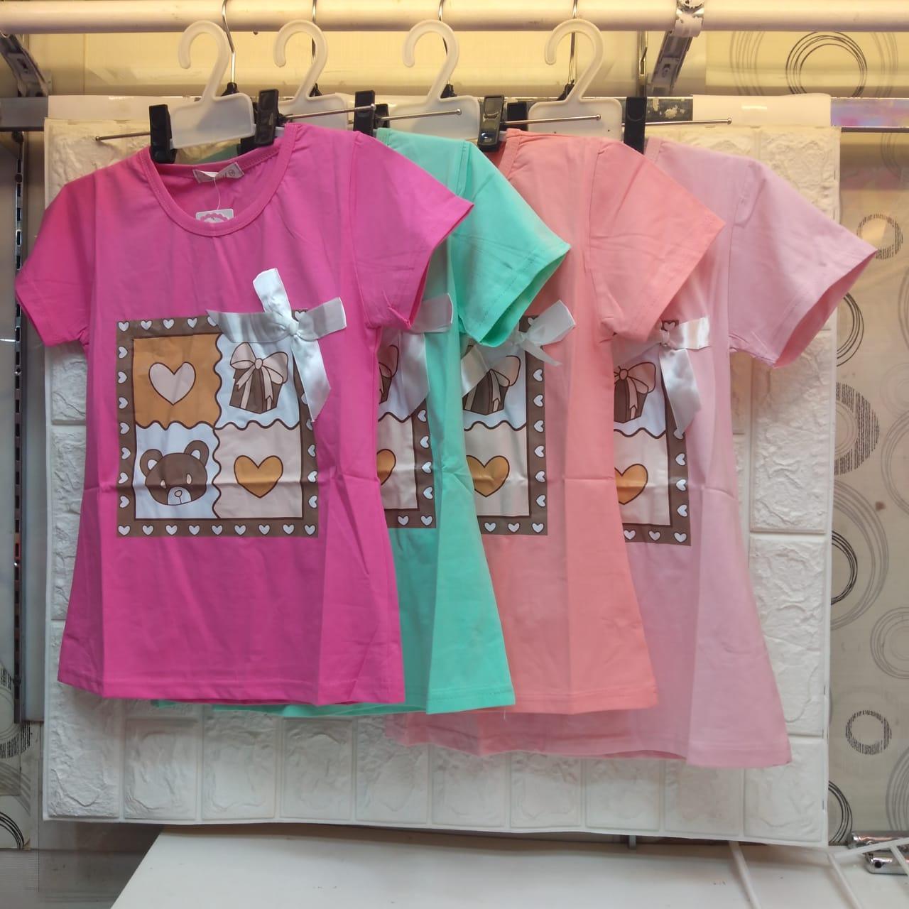 coco fashion kid / t-shirt anak perempuan / kaos anak  wisteria cat