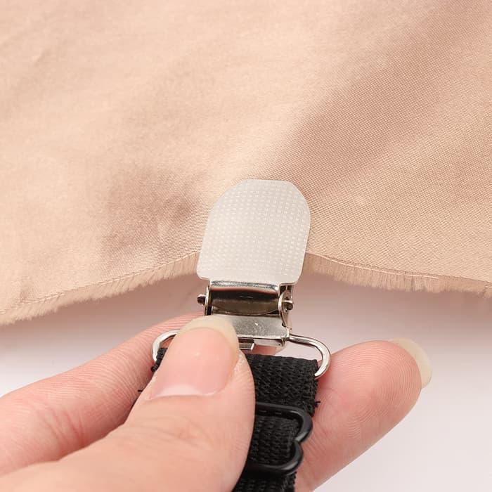 ... TERLARIS Penjepit Ujung Sprei Kasur Bed Sheet Clip Holder 4PCS - hVSOXvWy - 4