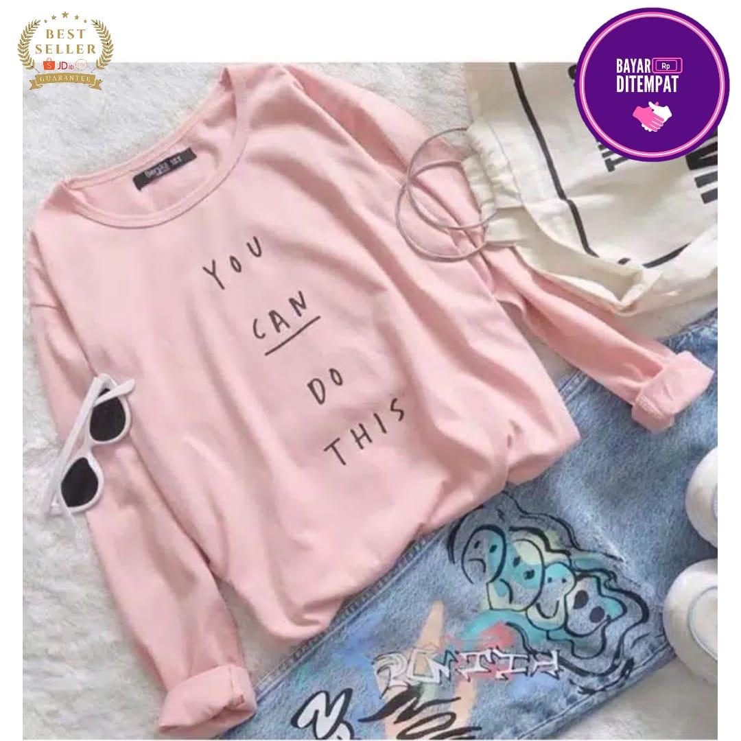 kafis shop / sweater tumb long sleeve / sweater hangat wanita