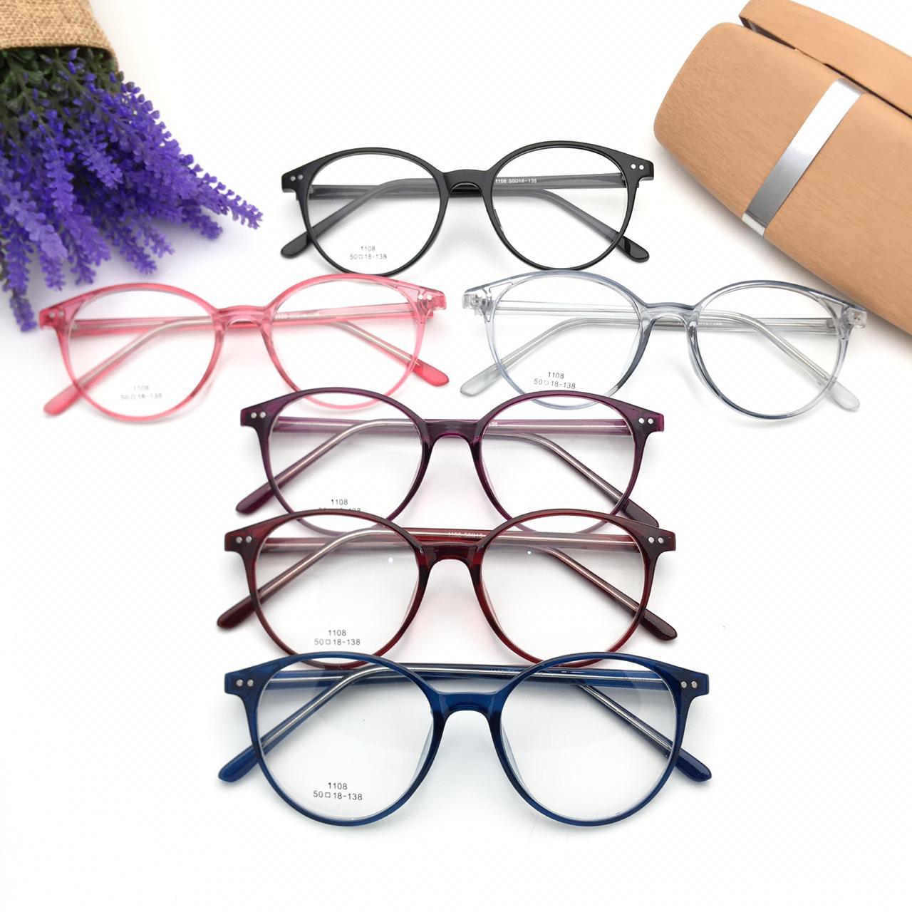 frame kacamata 03039 + lensa anti radiasi minus/plus/cylinder