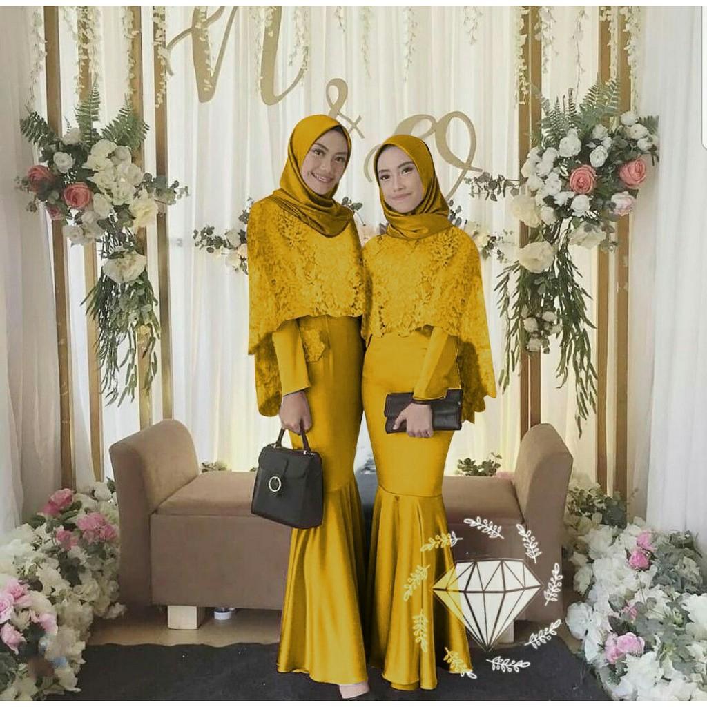 Review Dress Azka Duyung Maxi Dress Gamis Muslimah Model Terkini Dan