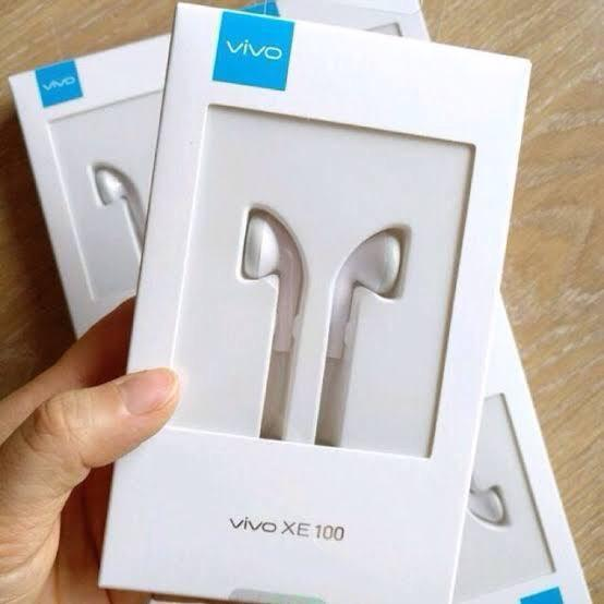 HANDSFREE HEADSET VIVO XE600I HF EARPHONE 3.55mm JACK IN EAR WITH MIC WIRED CONTROL EARBUDS