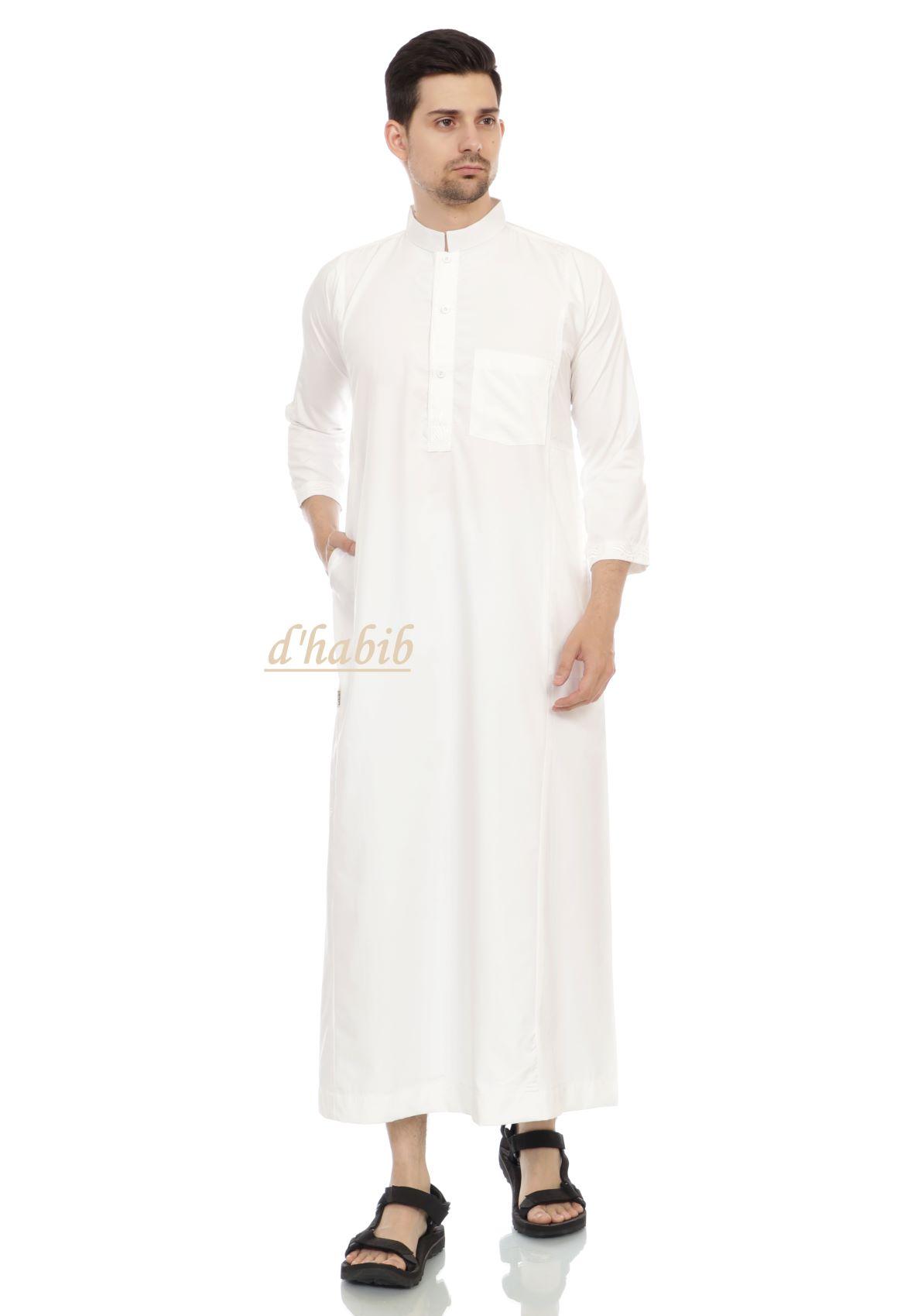 jubah muslim dhabib   long jubah  gamis pria   baju koko  kurta panjang