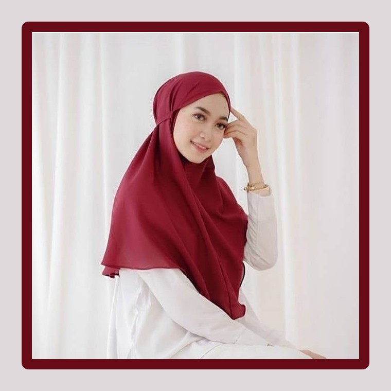 big promo !!! bergo maryam tali / hijab instan murmer bahan diamond