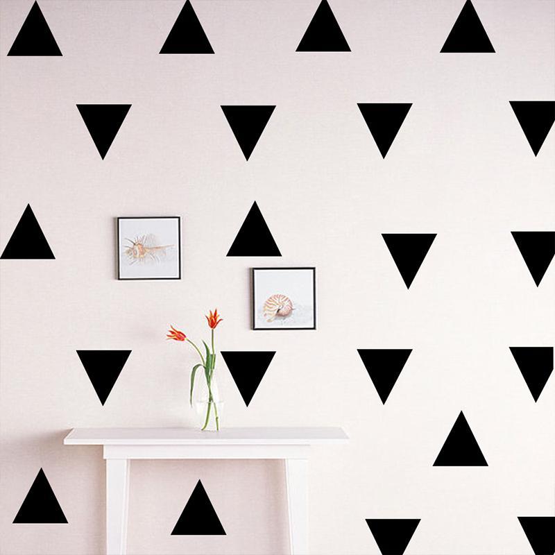 42 pcs Stiker Dinding Dot Dinding Segel Stiker Rumah Ruang Tamu Dekorasi PVC-Intl